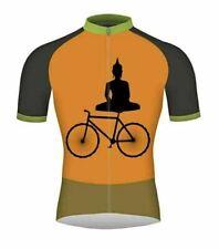 Buddha Short Sleeve Cycling Jersey Free Shipping