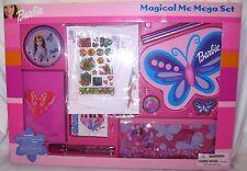 MATTEL BARBIE DOLL MAGICAL ME MEGA STATIONARY SET-BRAND NEW IN FACTORY BOX!