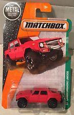 2016 Matchbox Die Cast Lamborghini LM002 101/125 in Red