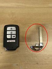 Honda Smart Key Insert New Uncut Fob Remote Blade