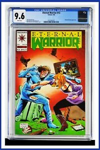 Eternal Warrior #12 CGC Graded 9.6 Valiant July 1993 White Pages Comic Book