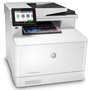 HP Color LaserJet Pro MFP M479dw Wireless Multifunction Printer Scan Copy