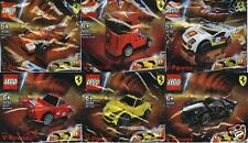 6x Lego Ferrari shell V-Power todos los modelos 30190 30191 30192 30193 30194 30195