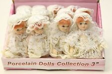 WHOLESALE Job Lot 12 x Dolls House Victorian Baby Porcelain Dolls Jointed Limbs