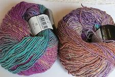 """Noro """"SHIRO"""" Luxury Yarn, #9  Green, Purple, Rust"""