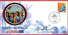 2000 Sydney Olympic Games Guin Batten Benham Signed Commemorative Cover