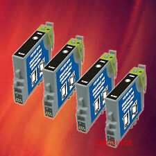 4 T044120 T0441 BLACK INK FOR EPSON C84WN C66 CX6600