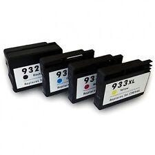 4 astillados Cartucho De Tinta 932xl 933xl Para Hp Officejet 6100 6600 6700 Impresora