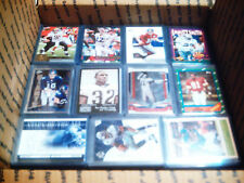 HUGE WHOLESALE FOOTBALL SPORTS CARD COLLECTION LOT MANNING RYAN BREES SMITH