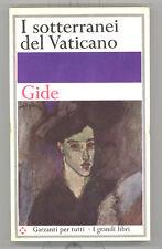 André Gide - I SOTTERRANEI DEL VATICANO - romanzo Garzanti