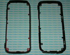 Cover centrale middle case per Nokia 5800 rosso bordeaux red scocca telaio frame