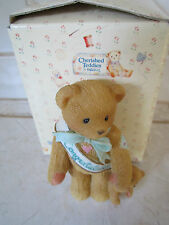 """New In Box Cherished Teddies """"This Calls For A Celebration"""" Figurine 215910"""