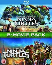Teenage Mutant Ninja Turtles & out of The Shadows - 2 Movies BLURAY