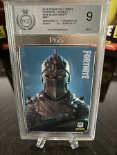 More details for 2019 panini fortnite series 1 black knight #252 pgs 9 mint graded base card