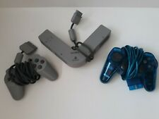 Sony Playstation 1 Multi Tap SCPH-1070 4 Player and 2 OEM controllers lot 1 PS1