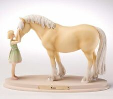 "Enesco Horse Whispers""Kisses"" New #4028504"