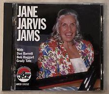 JANE JARVIS / JAMS  AUDIO CD  ARBORS LABEL JAZZ  EX+