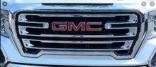 2019 2020 GMC SIERRA 1500 SLT CHROME GRILL GRILLE ASSEMBLY  84508284 OEM