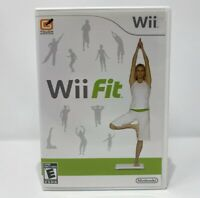 Wii Fit Nintendo Wii Video Game Complete