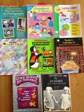 Lot of 8 Teacher Resource Books Elementary Primary School Bulletin Learning