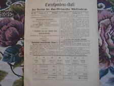 1892 ...Württemberg 10 / Reklame Stuttgart Amöneburg
