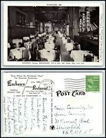 NEW YORK Postcard - NYC, Luchow's Famous Restaurant G24