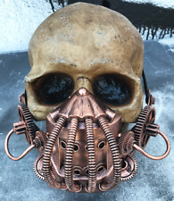 Distressed Copper STEAMPUNK 'BANE' (Dark Knight Rises) Mask -Tubes, Coils, Gears