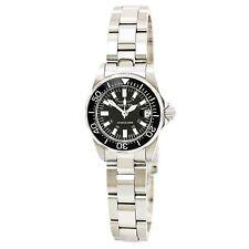 Invicta Women's Watch Signature Quartz Black Dial Stainless Steel Bracelet 7059
