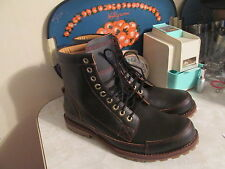 "TIMBERLAND EARTHKEEPERS ORIGINAL 6""  BROWN LEATHER BOOTS US MEN'S 10 NWOB"