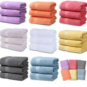 Luxury COTTON SOFT Bath Sheets BATHROOM TOWELS  High Absorbe