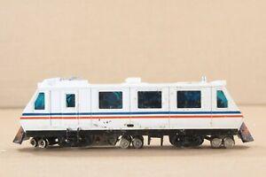 HO Bachmann Amtrak Plasser EM80C Powered Diesel Car Operates w/ probs
