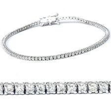"1 1/2 cttw Diamond Tennis Bracelet 14k White Gold 7"""