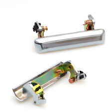 CHROME OUTER DOOR HANDLE PAIR NEW FIT NISSAN DATSUN PICKUP TRUCK 620 UTE UTILITY