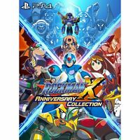 Rockman X Anniversary Collection  SONY PS4 PLAYSTATION 4 JAPANESE VERSION