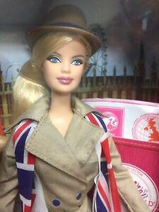 Barbie - Dolls of The World - United Kingdom X8426 NRFB Pristine Box