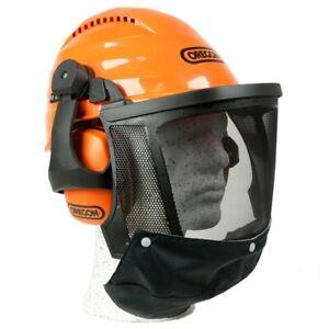 KWF Oregon Forsthelm Forstschutzhelm WAIPOUA 53-62 cm Gesichtsschutz Gehörschutz