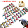 ALS_ KQ_ Pets Bird Parrot Wooden Beads Hanging Climbing Stand Swing Ladder Cage