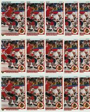 JEREMY ROENICK ROOKIE 15 CARD RC LOT 1990-91 UPPER DECK #63 US & FRENCH VERSIONS