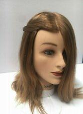 HairArt Cosmetology Mannequin Head (Emma LB) with Human Hair -100% Virgin Europe