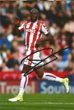 Stoke: Bruno Martins Indi firmado 6x4 foto de acción + certificado De Autenticidad