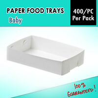 Cake Trays Baby 400 P/c Cupcake Tray, Takeaway Disposable Paper Trays Fish Chips