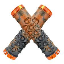 Propalm rubber Skull Handlebar Lock-on Grip MTB XC DH AM Fixie bike Grips Orange