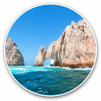 2 x Vinyl Stickers 7.5cm - The Arch of Cabo San Lucas Cool Gift #3429