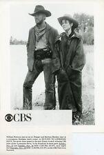 William Peterson Barbara Hershey Return To Lonesome Dove 1993 Cbs Tv Photo