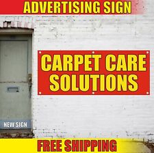 Carpet Care Banner Advertising Vinyl Sign Flag Solutions Cleaning Wash Service
