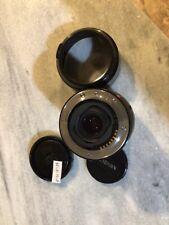 Minolta AF Zoom XI 100-300mm F4.5-5.6 Lens with Caps, Filter & Hood