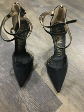 SAM & LIBBY Black Stiletto Heels Sz 9 (EUC)