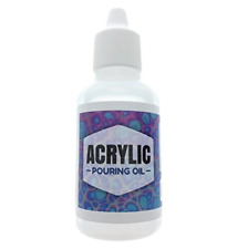 Acrylic Pouring Oil - 100% Silicone Lubricant for Cell Creation in Acrylic Paint