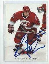 Andrew Ladd Signed 2006/07 Fleer Ultra Card #36