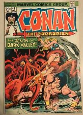Conan the Barbarian #45 (Dec 1974, Marvel)  7.5 VF- Condition